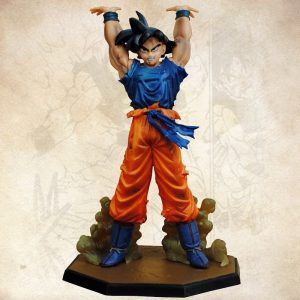 Anime Dragon Ball Z Son Goku Spirito Bomba Ver PVC Action Figure DBZ Goku Da Collezione Model Toy 17 centimetri