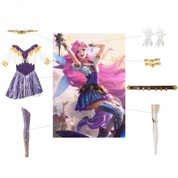 League of Legends - Seraphine | Set Intero