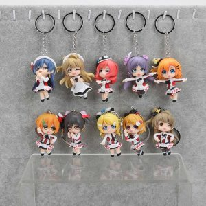 LoveLive! School Idol Project - Set Portachiavi (10 pezzi)